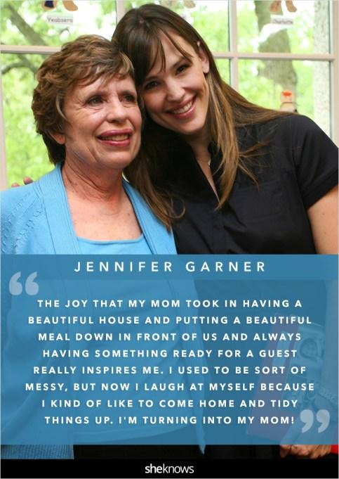 Jennifer Garner and her mom