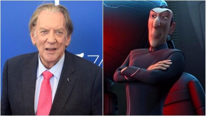 Animated Villains: Donald Sutherland
