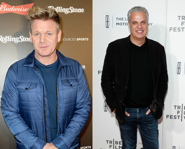 Gordon Ramsay's has been with a lot of people: Eric Ripert