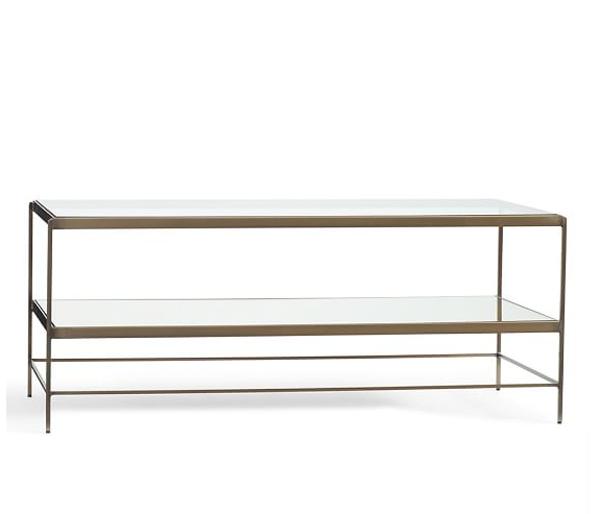 Ways To Nail Metallic Home Decor | Leona Coffee Table