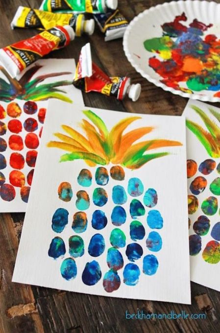 These simple summer crafts are easy enough for all moms to master.