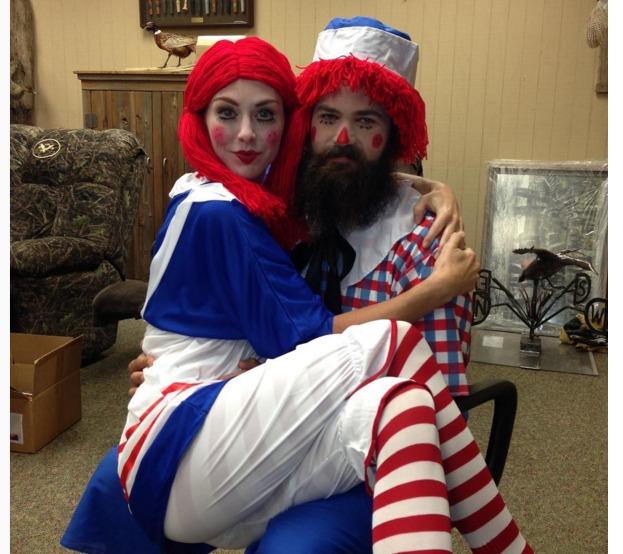 Jep and Jessica Robertson