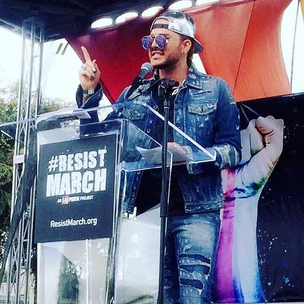 Celebrities celebrating Pride Month: Adam Lambert