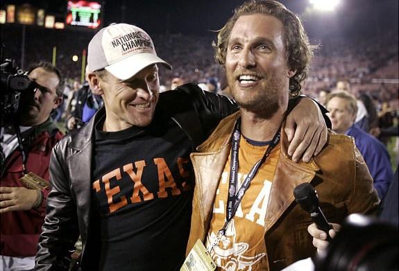 Lance Armstrong & Matthew McConaughey