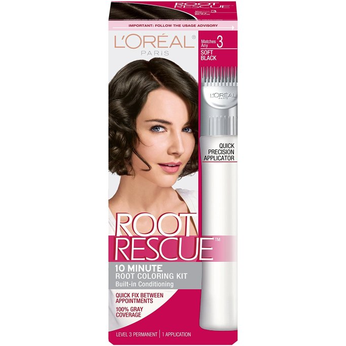 The Best Drugstore Root Dyes: L'Oréal Root Rescue | SheKnows Hair Color 2017