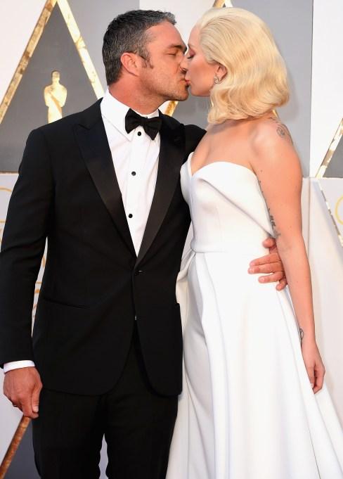 Taylor Kinney & Lady Gaga 2016 Oscars
