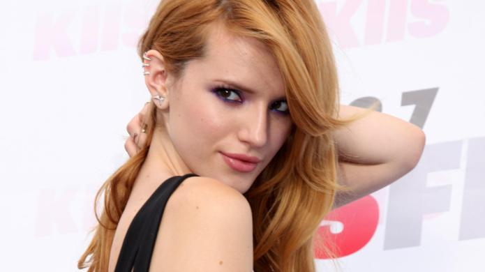 Ain't getting any! Bella Thorne made