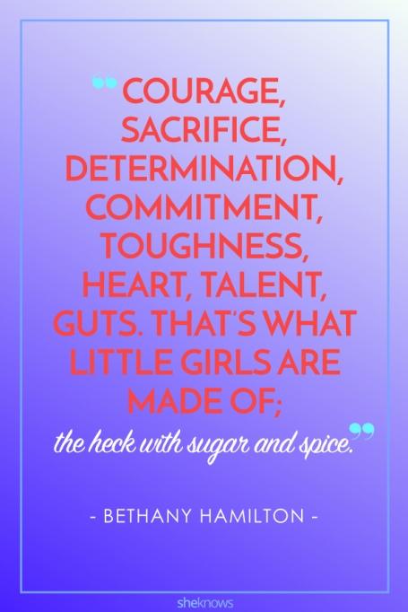 Inspiring Quotes From Female Athletes: Bethany Hamilton
