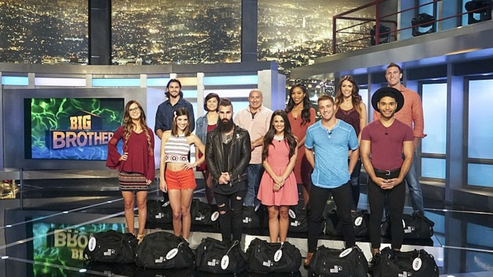 Twelve new houseguests move into the