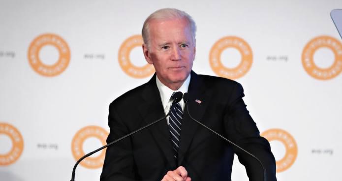 Joe Biden Consoled a Crying Meghan