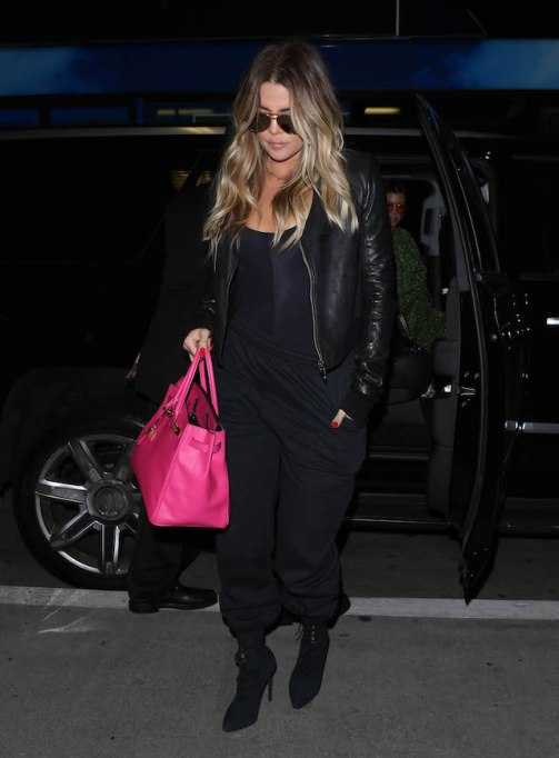 Khloé Kardashian is spotted out and about in Los Angeles