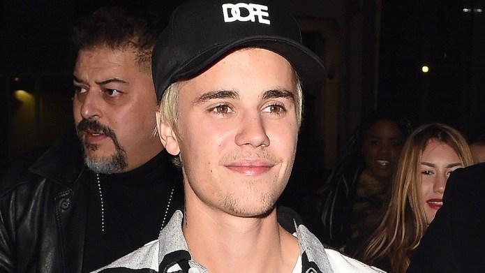 Justin Bieber seen arriving at Tape