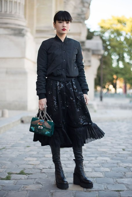 Non-Cheesy Ways to Wear Sequins: Sequin And Black All Over | Fall Fashion Trends 2017