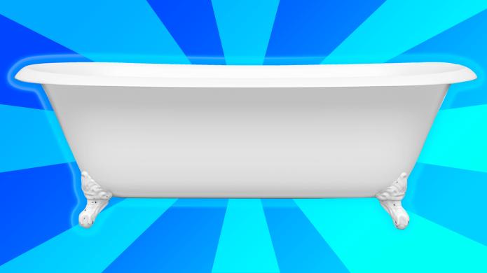 Magical Blue Glowing Bathtub: Bathtime Tips