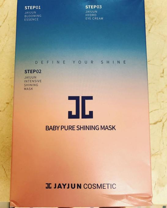 JAYJUN 3 Steps Intensive Shining Mask