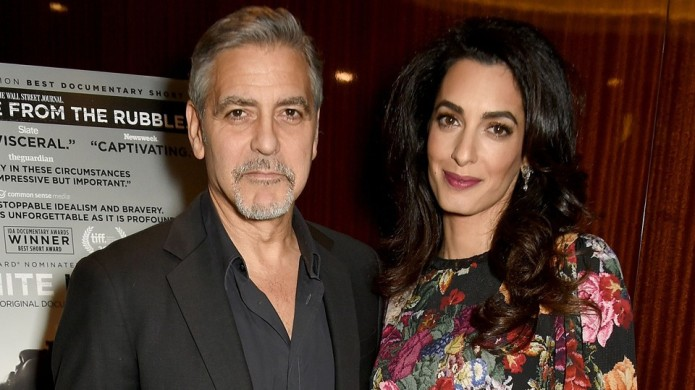 Amal and George Clooney Are Having