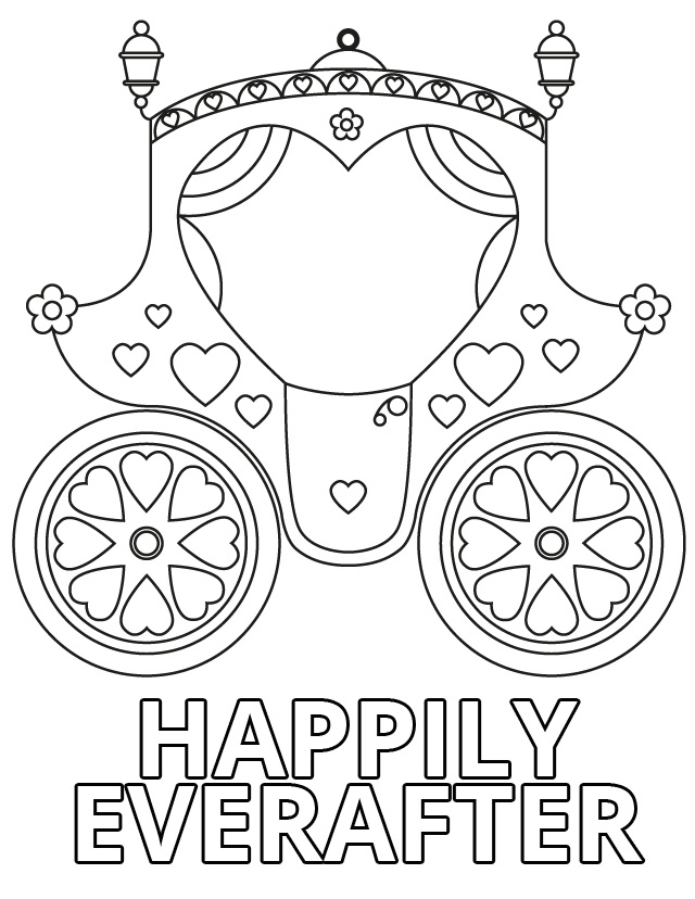 17 Wedding Coloring Pages for Kids Who Love to Dream About Their Big ...