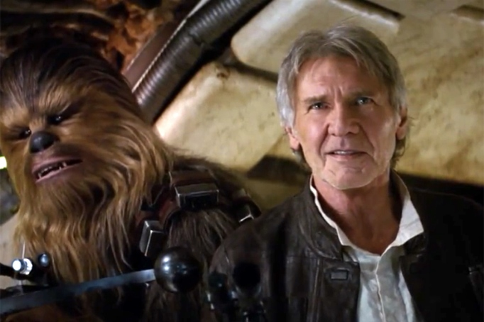 Harrison Ford broke his leg while filming The Force Awakens