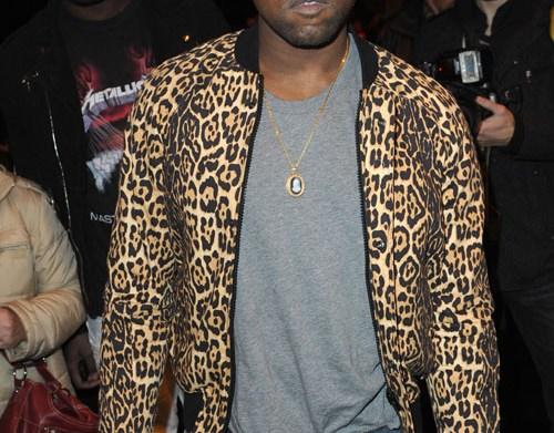 Kanye West Paris Fashion Week Fall-Winter