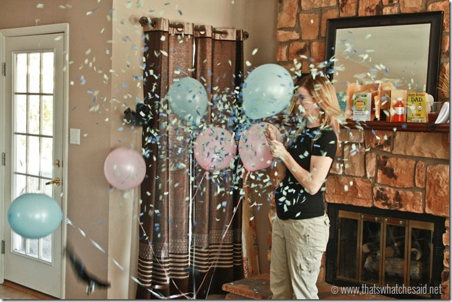 Gender Reveal Party Ideas You'll Actually Want to Copy: More Low-Key Confetti