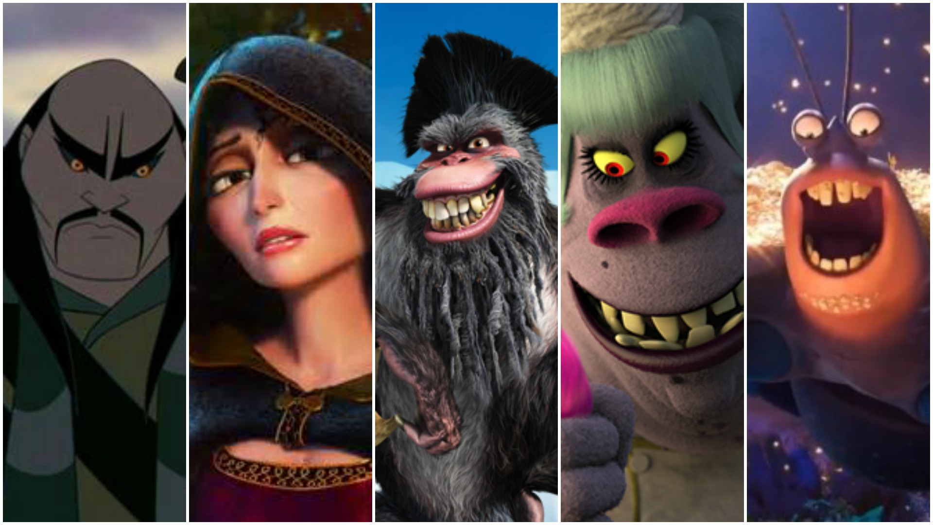 33 Actors You Didn't Realize Voiced Animated Movie Villains