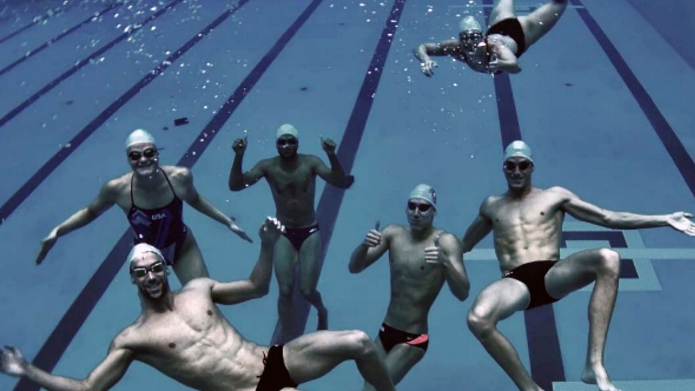 U.S. Olympics men's swim team: Get