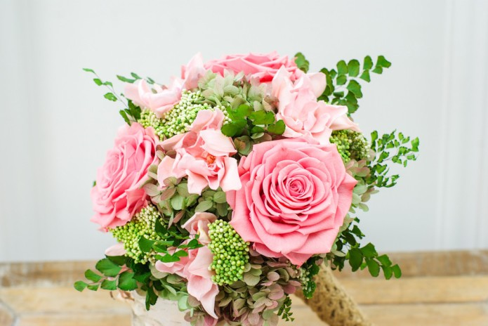 Wedding bouquets that, like wine, will