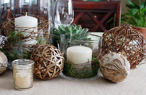 15 Centerpieces inspired by nature