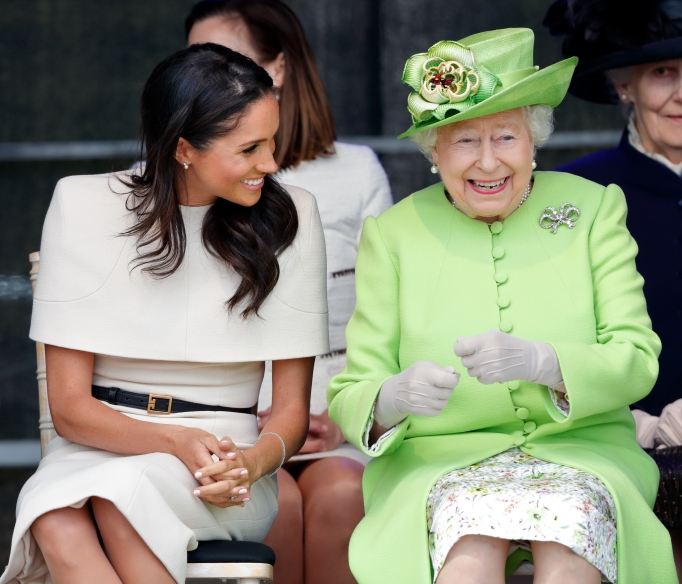 Meghan Markle and Queen Elizabeth attend Mersey Gateway Bridge opening ceremony