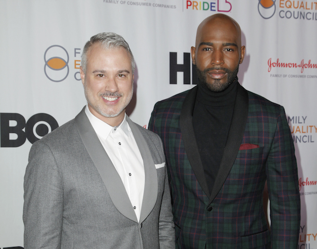 Ian Jordan and Karamo Brown attend the Family Equality Council's annual Impact Awards
