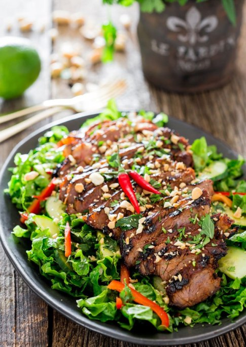 50 Easy Summer Salads: Easy Thai Steak Salad | Summer Eats