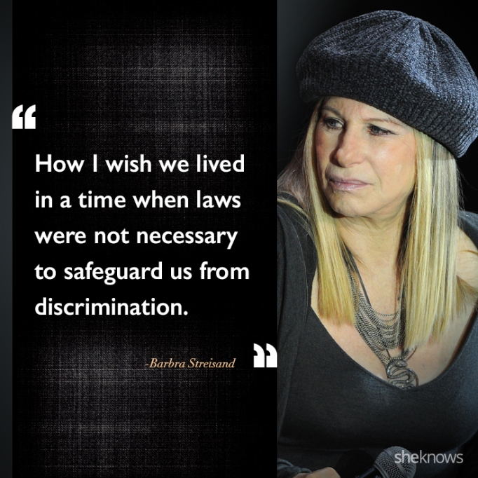 Barbra Streisand race quote