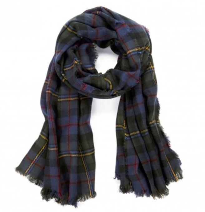 Blanket Scarves to Keep You Cozy This Fall and Winter: Wool scarf at Sole Society   Fall and Winter Fashion 2017