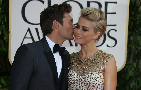 Ryan Seacrest Julianne Hough