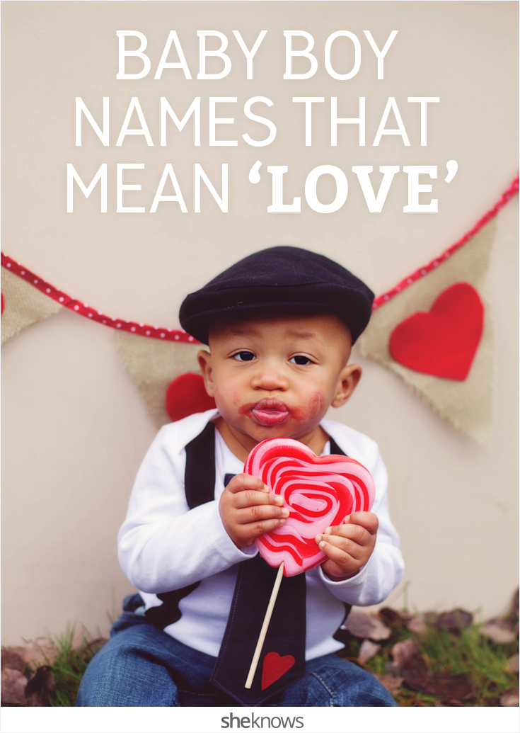 baby boy names that mean love