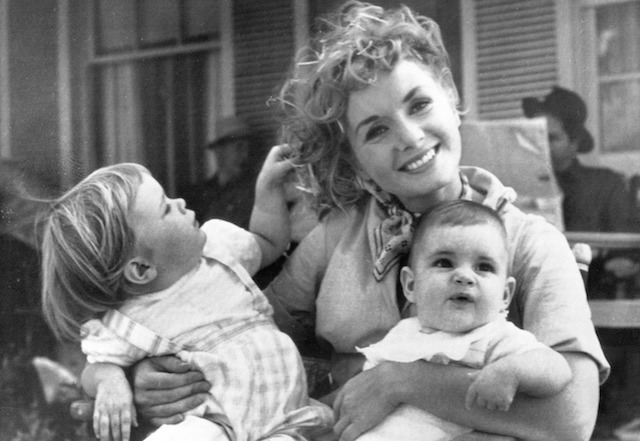 Debbie Reynolds and babies