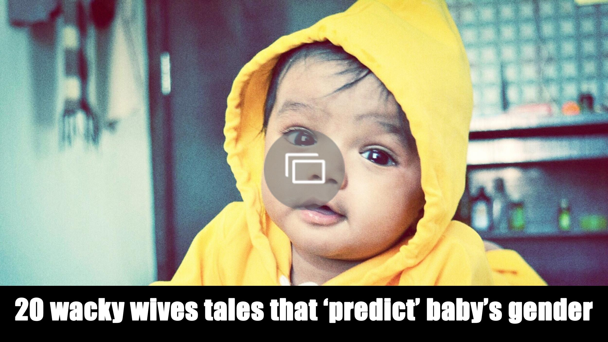 baby gender wives tales