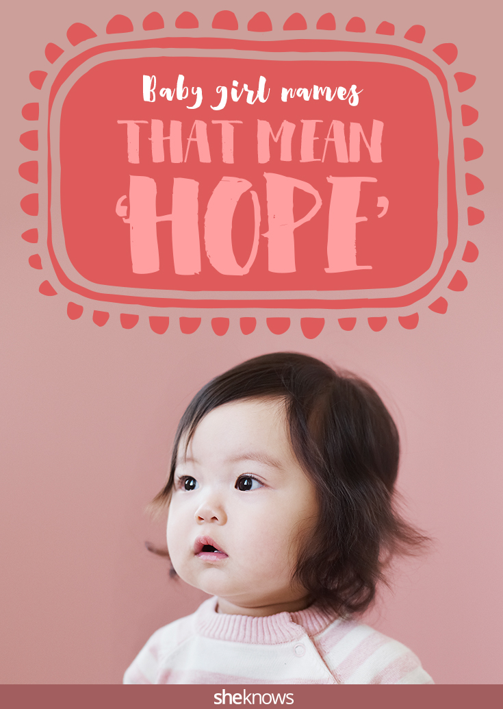 baby girl names that mean hope