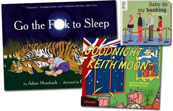 Baby bedtime books - parodies