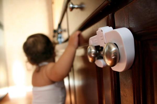 Baby proofing kitchen