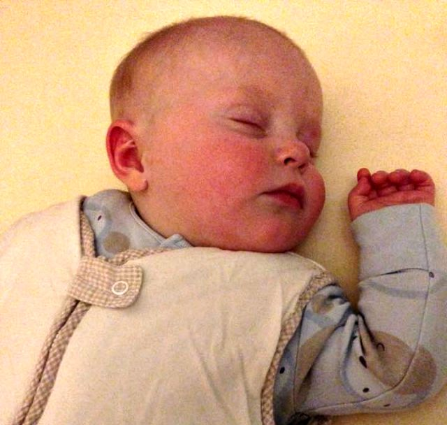 Epic parenting fail baby breastfeeding spray tan