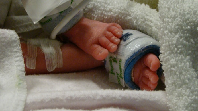 Newborn who only lived 100 minutes