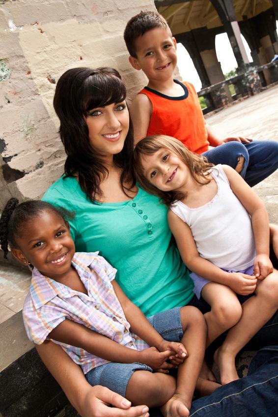 Babysitter with 3 kids