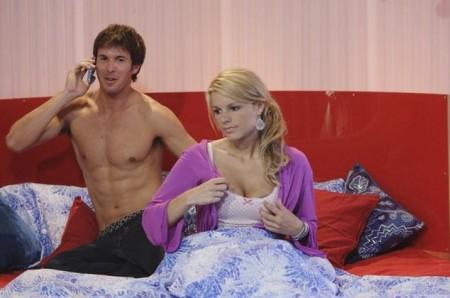 Bachelorette Ali looks dejected
