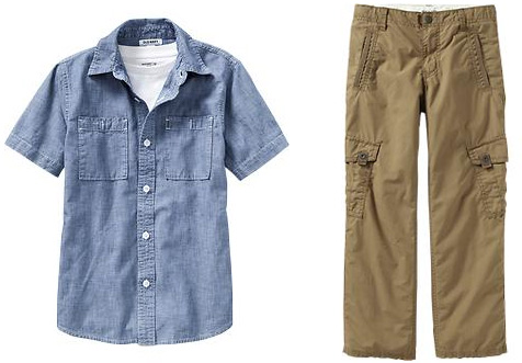Back to school fashion for little boys