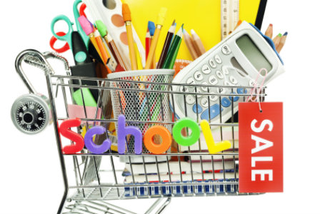 Back-to-school shopping