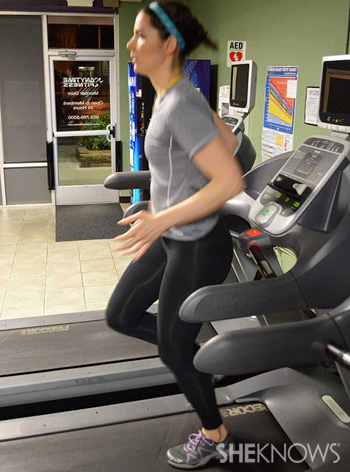 Backward jogging
