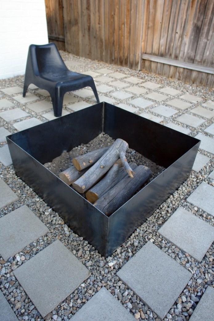 The best DIY backyard fire pits