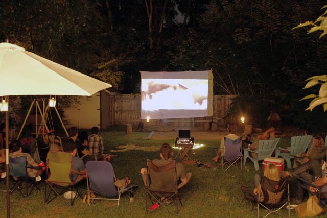 Backyard Movie Night Bash