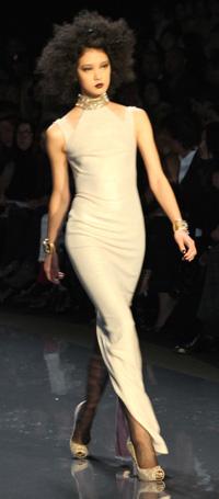 New York Fashion Week 2012 -- Badgley Mischka